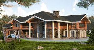 Самые лучшие готовые проекты деревянных домов вы встретите на странице нашего сайта